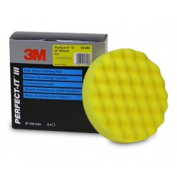 Mousse 3M de polissage perfect-it jaune ondulé en 150mm